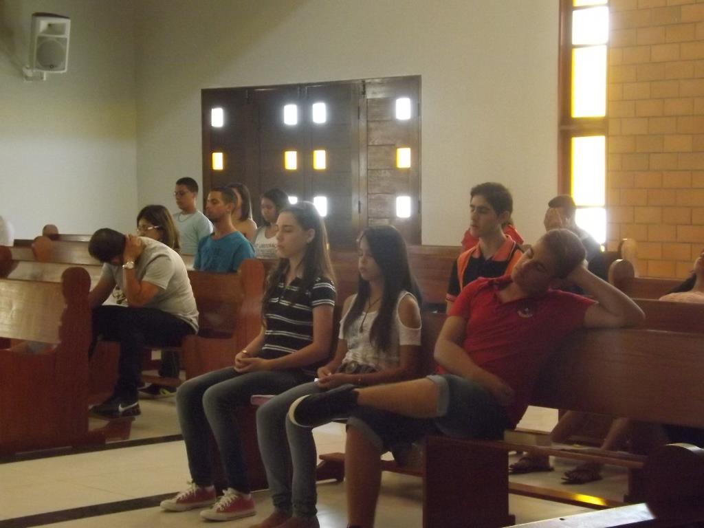 Retiro da Crisma no Seminário Diocesano 31.08.2014 (19)