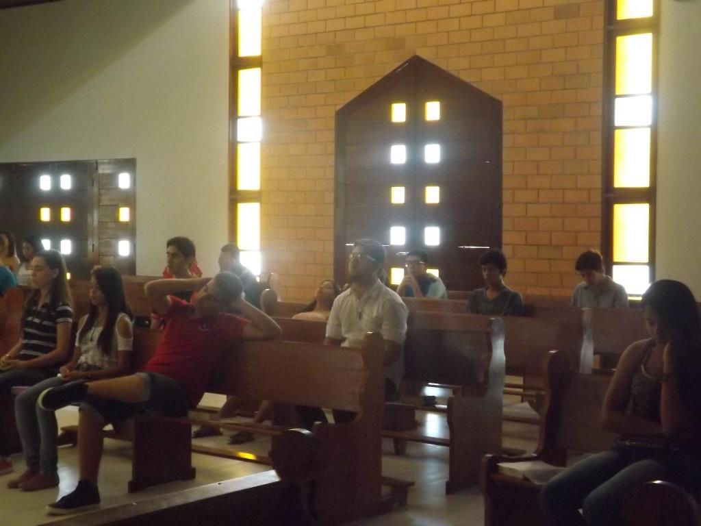 Retiro da Crisma no Seminário Diocesano 31.08.2014 (21)